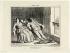 """Honoré Daumier (1808-1879).""""Croquis d'été -trente deux degrés !!! .... (pl.16)"""". Lithographie en noir. Paris, musée Carnavalet.  © Musée Carnavalet/Roger-Viollet"""