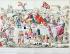 """""""Le Ci-devant grand couvert de Gargantua moderne en famille (caricature de la famille royale). Anonyme. Estampe.  Paris, musée Carnavalet.     © Musée Carnavalet / Roger-Viollet"""