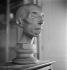 Moulage d'une tête. Musée Dupuytren, rue de l'Ecole-de-Médecine. Paris (VIe arr.), vers 1930. © Gaston Paris / Roger-Viollet