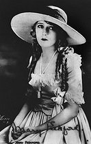 Mary Pickford (1893-1979), actrice canadienne. © Roger-Viollet