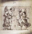 "Luca Cambiaso (ou Cambiasi, Cangiagio, dit Lucchetto da Genova, 1527-1585). ""Esquisse de deux anges"", 1550-1585. © Alinari/Roger-Viollet"