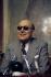 Marcel Dassault (1892-1986), ingénieur et avionneur français. France, 1975. © Jean-Pierre Couderc / Roger-Viollet