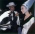 Audrey Hepburn (1929-1993), actrice britannique et William Holden (1918-1981), acteur et chanteur américain. © Roger-Viollet