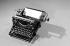 Machine à écrire Underwood.  © Roger-Viollet