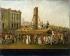 """""""Exécution de Marie-Antoinette, le 16 octobre 1793"""". Peinture anonyme. Paris, musée Carnavalet. © Musée Carnavalet/Roger-Viollet"""