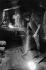 Jeune garçon pétrissant de l'argile avec le pied. Téhéran (Iran), 1972. Photographie de Jean Marquis (né en 1926). © Jean Marquis/Roger-Viollet