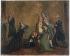 """D'après Charles Benazech (1767-1794). """"Les adieux de Louis XVI à sa famille, le 20 janvier 1793"""". Huile sur carton. Paris, musée Carnavalet.  © Musée Carnavalet/Roger-Viollet"""