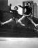 Patineuses au Rockefeller Center. New York (Etats-Unis), 1940.  © Underwood Archives / The Image Works / Roger-Viollet