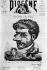 """Georges Bizet (1838-1875), compositeur français. Caricature d'Henri Meyer pour """"Diogène"""" avec un autographe de Bizet. Paris, bibliothèque de l'Arsenal. © Albert Harlingue / Roger-Viollet"""