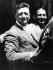 Enzo Ferrari (1898-1988), pilote automobile et industriel italien. © TopFoto / Roger-Viollet