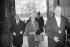 Golda Meir (1898-1978), Premier ministre d'Israël, lors d'une visite du ministère des Affaires étrangères. Paris, 20 septembre 1965. © Roger-Viollet
