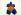 """Niki de Saint Phalle (1930-2002). """"Nana"""" en maillot de bain à fleurs. Polyester, 1967-1970. © Ullstein Bild/Roger-Viollet"""