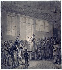 """Jean-Pierre Norblin de la Gourdaine (1745-1830). """"Chanteuse"""". Plume, lavis de bistre et encre de Chine, rehauts de gouache. Paris, musée Carnavalet. © Musée Carnavalet/Roger-Viollet"""