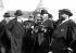 De gauche à droite : Fallières, Poincaré, Joffre et Millerand aux manœuvres de l'ouest. Septembre 1912. © Maurice-Louis Branger/Roger-Viollet