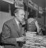 Book fair of veteran writers. Maurice Genevoix (1890-1980), French writer. France, 1960. © Boris Lipnitzki / Roger-Viollet