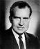 Richard Nixon (1913-1994), homme d'Etat américain. Président des Etats-Unis de 1969 à 1974. © TopFoto/Roger-Viollet