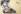 """Eugène Delacroix (1798-1863). """"Femme arabe assise à terre"""". Pastel, 1833-1834) Paris, musée Delacroix (dépôt du musée du Louvre). © Roger-Viollet"""
