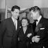 Edith Piaf, Jacques Pills et Jean Marais, vers 1953. © Roger-Viollet