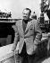 John Steinbeck (1902-1968), écrivain américain, prix Nobel de littérature 1962. © Albert Harlingue / Roger-Viollet