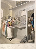 """Georg Emmanuel Opiz (ou Opitz, 1775-1841). """"Tableau de Paris - L'écrivain public au Palais-Royal"""". Aquarelle. Paris, musée Carnavalet.  © Musée Carnavalet/Roger-Viollet"""