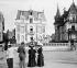 Villas. Trouville (Calvados). 1910. © Roger-Viollet