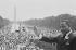 Martin Luther King Jr. au Lincoln Memorial lors de la marche pour les droits civiques à Washington D.C. (Etats-Unis). 28 août 1963. © TopFoto / Roger-Viollet