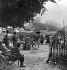 Guerre 1914-1918. Deuxième bataille de la Marne. Evacuation de civils à Dormans (Marne). Avril / mai 1918. © Roger-Viollet