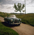 Automobile Mercedes 180 cabriolet. Années 1960. © Ray Halin / Roger-Viollet