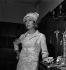 Danielle Darrieux au studio de Boulogne-Billancourt, 21 août 1968. © Roger Berson/Roger-Viollet