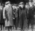 Georges Clemenceau (1841-1929), homme d'Etat français, lors d'une visite aux Etats-Unis, 1922. © Collection Harlingue / Roger-Viollet