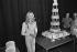 Sylvie Vartan fête ses 10 ans de passage à l'Olympia. Paris, 24 septembre 1972. © Patrick Ullmann/Roger-Viollet