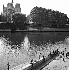 Paris Plage. Children bathing in the river Seine. Paris, 1948. © Jacques Rouchon/Roger-Viollet