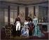 """Jean Louis Victor Viger du Vigneau (1819-1879). """"L'impératrice Joséphine recevant le tsar Alexandre Ier de Russie"""". Rueil-Malmaison (Hauts-de-Seine), Musée de la Malmaison. © Roger-Viollet"""