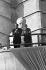 Défilé du 1er mai 1964, en présence de Raúl Castro (Fidel Castro étant à l'étranger). La Havane (Cuba). © Gilberto Ante/Roger-Viollet