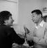 Henri Salvador, chanteur français et son épouse Jacqueline. © Studio Lipnitzki/Roger-Viollet