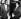 Rosa Parks (1913-2005), couturière noire américaine qui lança le boycott noir de la compagnie de bus de Montgomery après qu'elle fut verbalisée pour s'être assise dans la partie du bus réservée aux Blancs. En compagnie de l'attorney Charles D Langford, après son arrestation suite au boycott. 24 février 1956. © TopFoto/Roger-Viollet