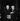 Charlie Chaplin (1889-1977), acteur et réalisateur anglais, et Jean Renoir (1894-1979), cinéaste français.  © Roger-Viollet