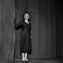 Edith Piaf (1915-1963), chanteuse française. Paris, Olympia, janvier 1961. © Studio Lipnitzki / Roger-Viollet