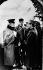 """La Grande Illusion"", film de Jean Renoir. Jean Gabin, Pierre Fresnay et Erich von Stroheim. France, 1937. © Roger-Viollet"