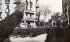 Guerre d'Espagne. Légionnaires franquistes défilant dans les rues de Barcelone (Espagne). Février 1939. © Alinari/Roger-Viollet
