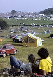 Participants au festival de Woodstock. Bethel (Etats-Unis), 16 août 1969.  © Tom Miner/The Image Works/Roger-Viollet