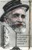 """Chapellerie d'Auteuil. """"Une canne plombée et un baton de nougat sont offerts aux habitués"""". Caricature sur Emile Loubet (1838-1929), homme d'Etat français. Carte postale humoristique par Orens, 23 septembre 1902. © Roger-Viollet"""