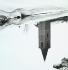 Reflet d'une église dans l'eau. Vallée d'Engadina (Suisse). Photo : Filiberto Pittini. © Filiberto Pittini/Alinari/Roger-Viollet