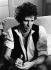 Keith Richards (né en 1943), guitariste anglais, membre des Rolling Stones. Paris (Ier arr.), hôtel Ritz, 1984. © Ullstein Bild / Roger-Viollet
