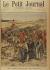 """""""Une razzia dans le Sud Oranais (Algérie), les Goums capturant des bandits marocains"""". """"Le Petit Journal"""", 28 octobre 1900. © Collection Roger-Viollet / Roger-Viollet"""