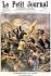 """Chine. Guerre des Boxers. Victoire du Général français Bailloud sur les Boxers à Pao-Ting-Fou. """"Le Petit Journal"""", 13 janvier 1901.  © Roger-Viollet"""