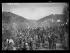 """Guerre d'Espagne (1936-1939). """"La Retirada"""". Camp de réfugiés et des Brigades internationales d'Amélie-les-Bains (Pyrénées-Orientales), février 1939. Photographie Excelsior. © Excelsior - L'Equipe / Roger-Viollet"""