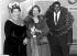 Ella Fitzgerald (1917-1996), chanteuse de jazz américaine, Vera Lynn (née en 1917), chanteuse anglaise, et Oscar Peterson (1925-2007), pianiste et compositeur de jazz canadien. Londres (Angleterre), Royal Albert Hall, 23 février 1955. © TopFoto/Roger-Viollet
