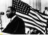 Martin Luther King (1929-1968), pasteur américain, prononçant un discours aux Etats-Unis. © Ullstein Bild / Roger-Viollet