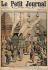 """""""La mort de Chulalongkorn roi de Siam, transport des restes du souverain à la grande pagode"""". Le Petit Journal du dimanche 6 novembre 1910. © Collection Roger-Viollet / Roger-Viollet"""